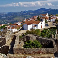 Marvão vilage in Portugal