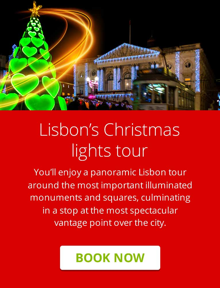 Lisbon's Christmas lights tour