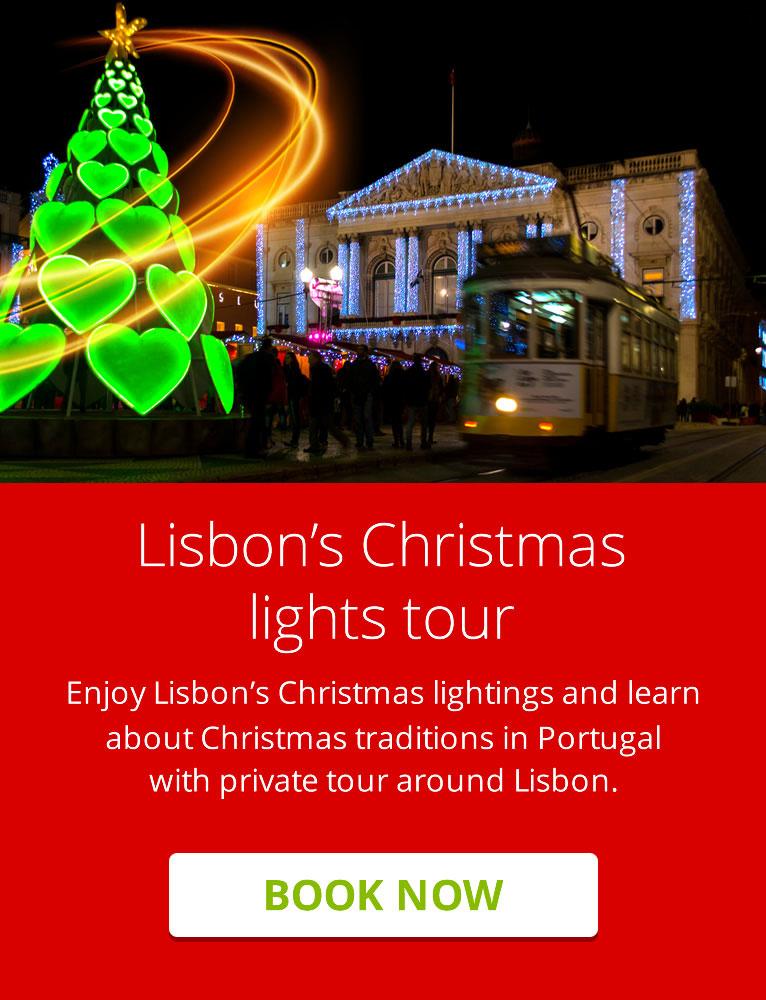 Lisbon's Christmas lights tour