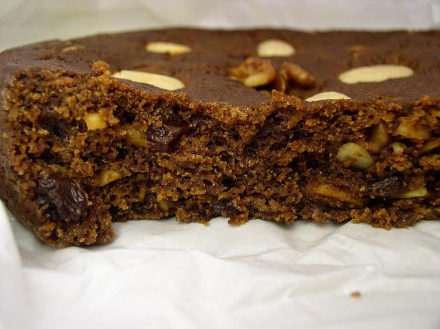 Honey cake from Madeira island