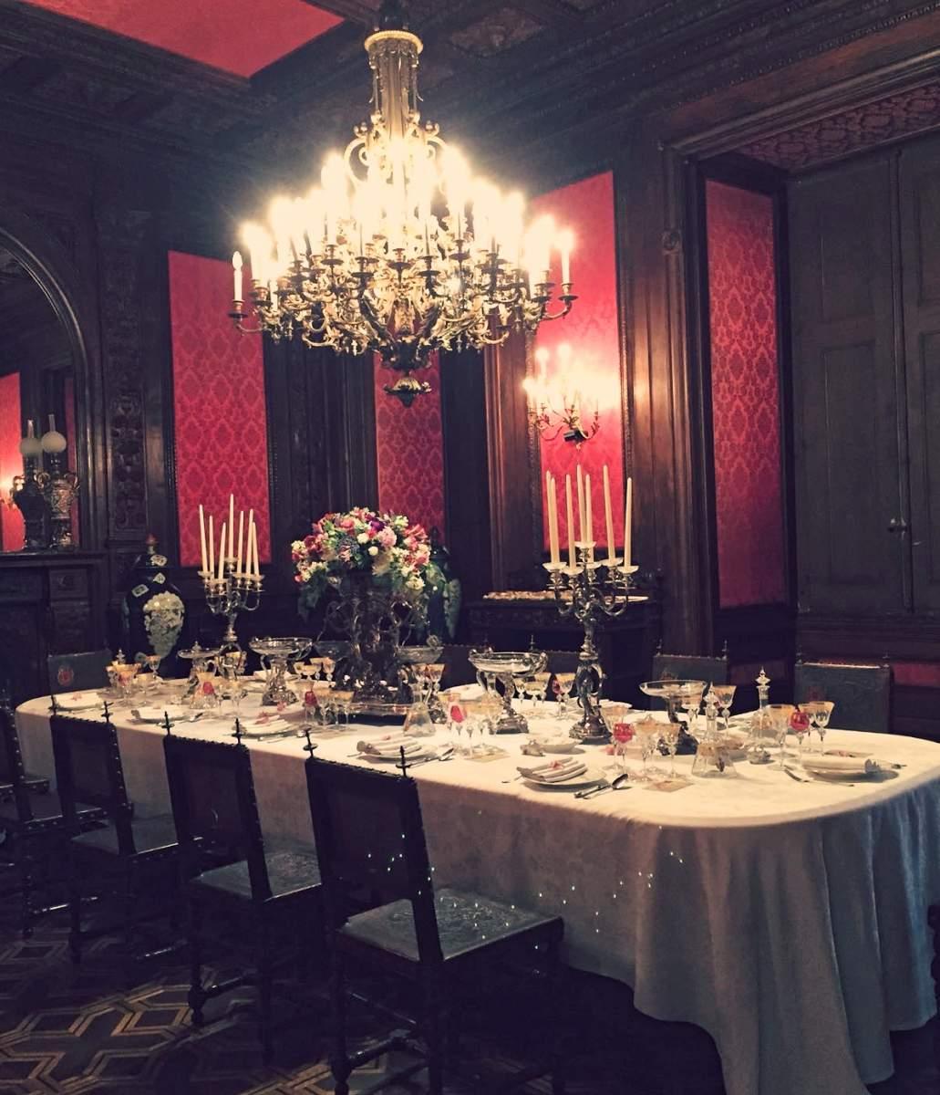 Ajuda Palace dining room