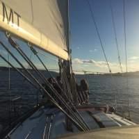 private sailboat tour Lisboa